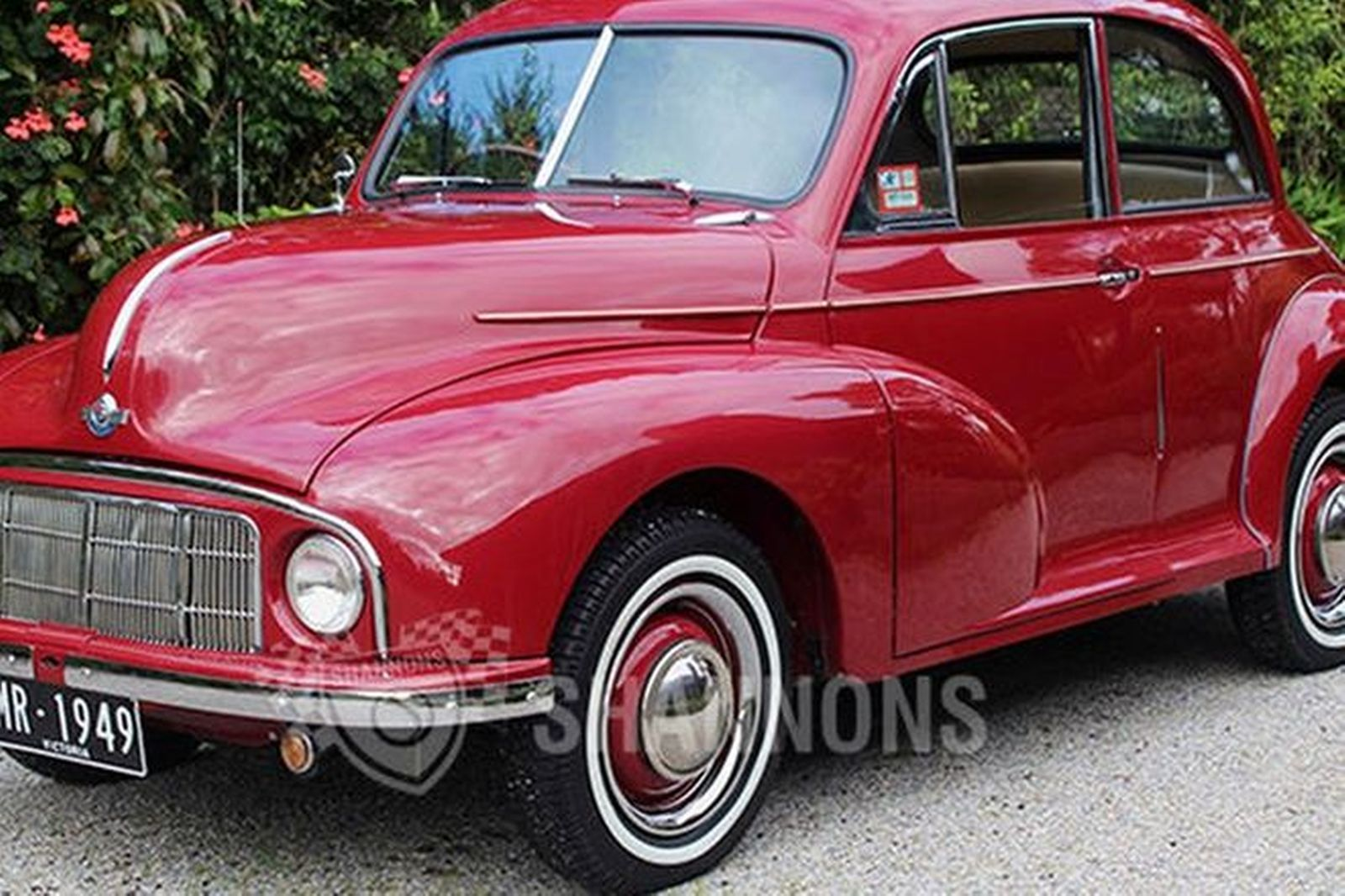 Sold Morris Minor Mm Low Light 2 Door Sedan Auctions