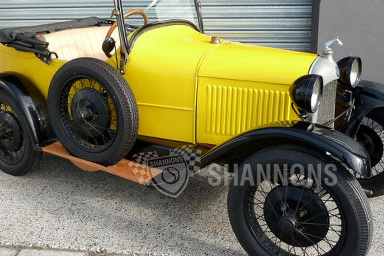Sold Citroen 5cv Boatail Roadster Auctions Lot 12