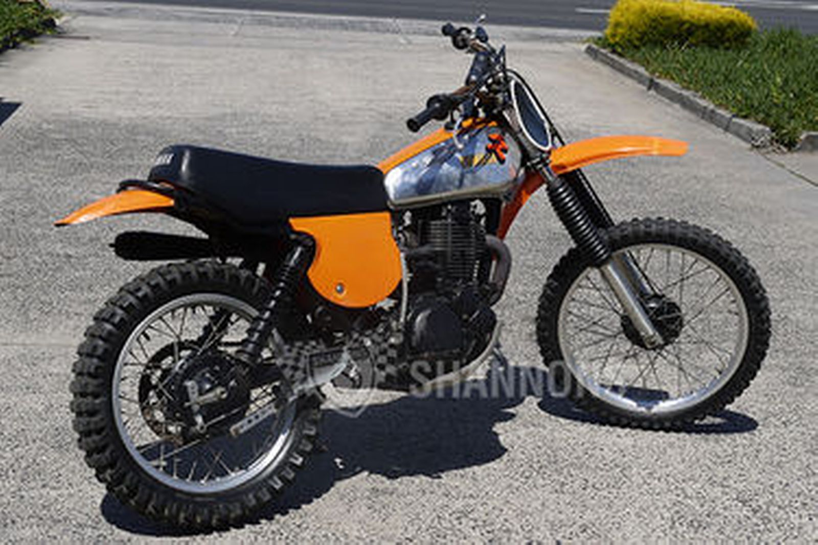 Yamaha TT500 Trail Bike