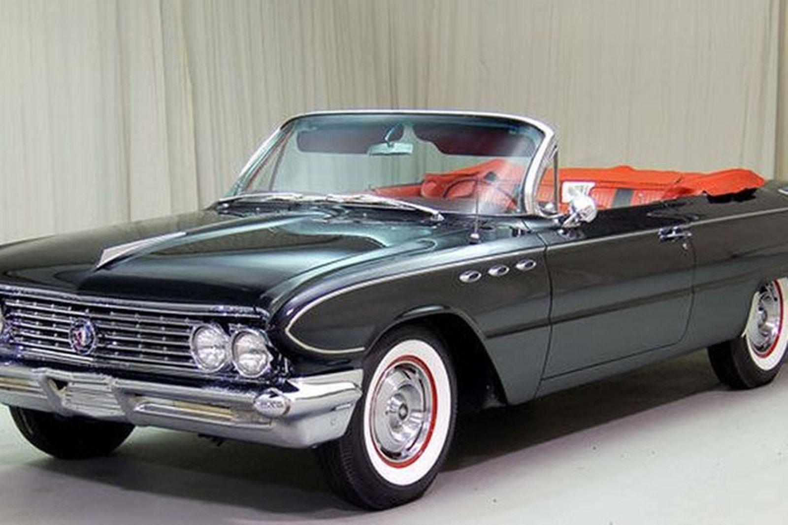 Buick Electra 225 4 Door Convertible Auctions Lot 11 Shannons 1961 21 Oct 2007 Lesabre