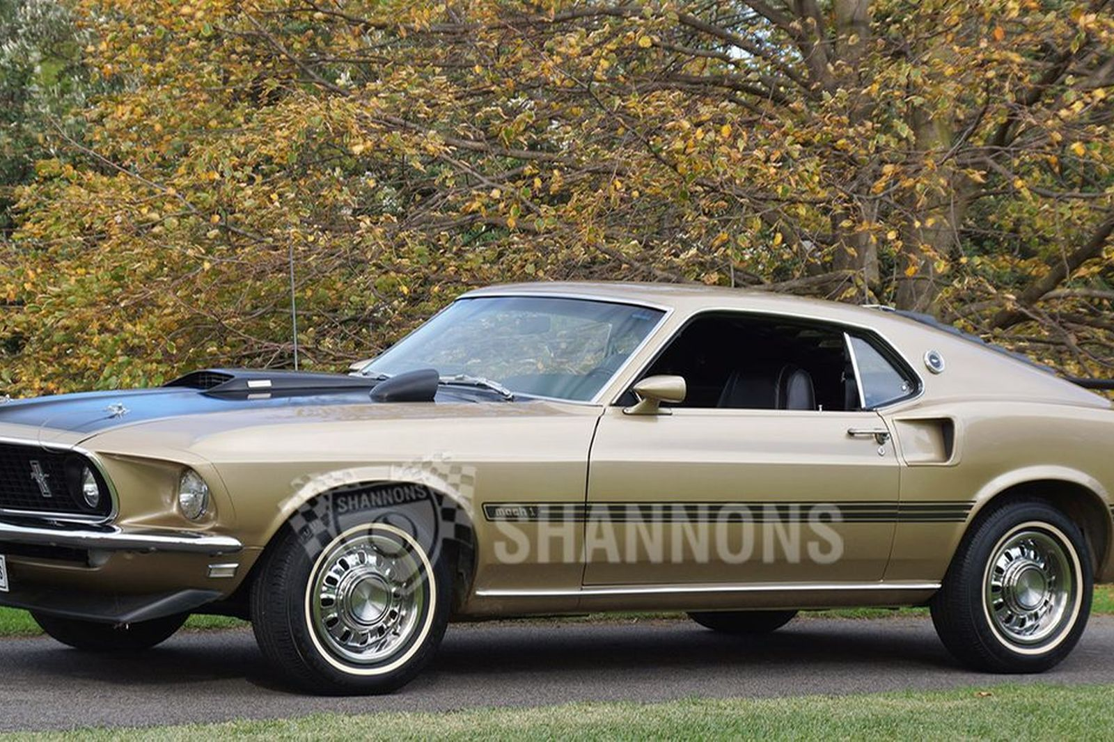 Ford mustang mach1 351 v8 fastback lhd