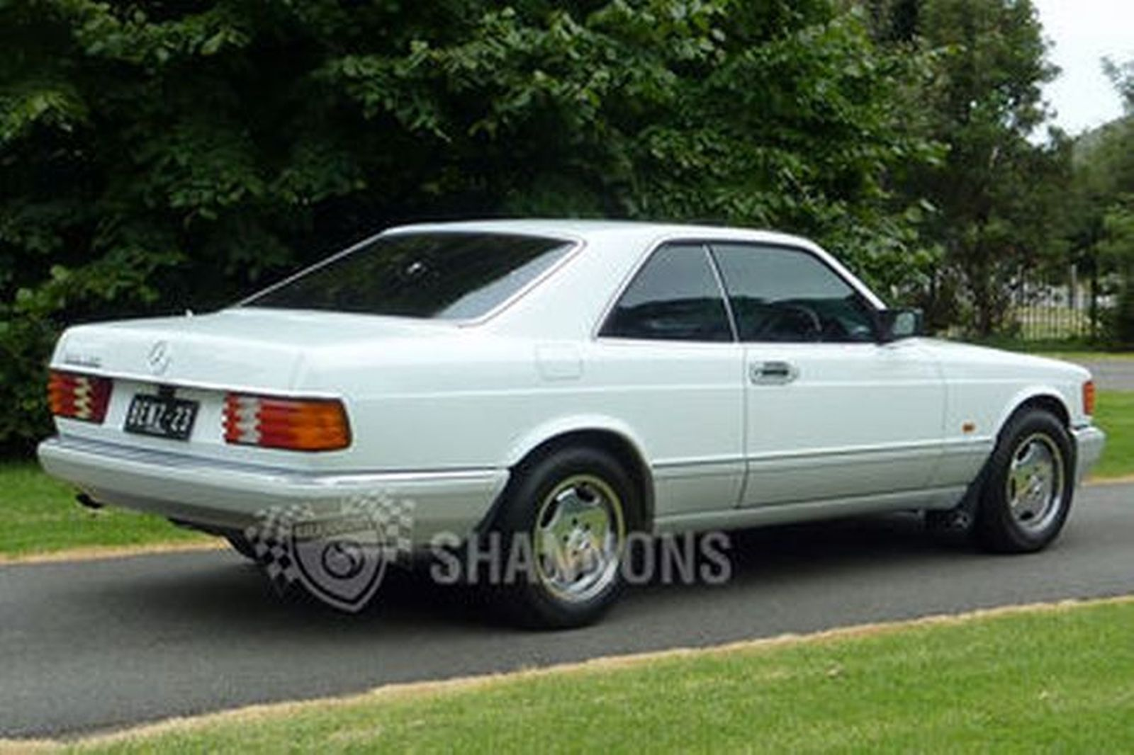 sold mercedes benz 500 sec 39 lorinser 39 coupe auctions lot 25 shannons. Black Bedroom Furniture Sets. Home Design Ideas