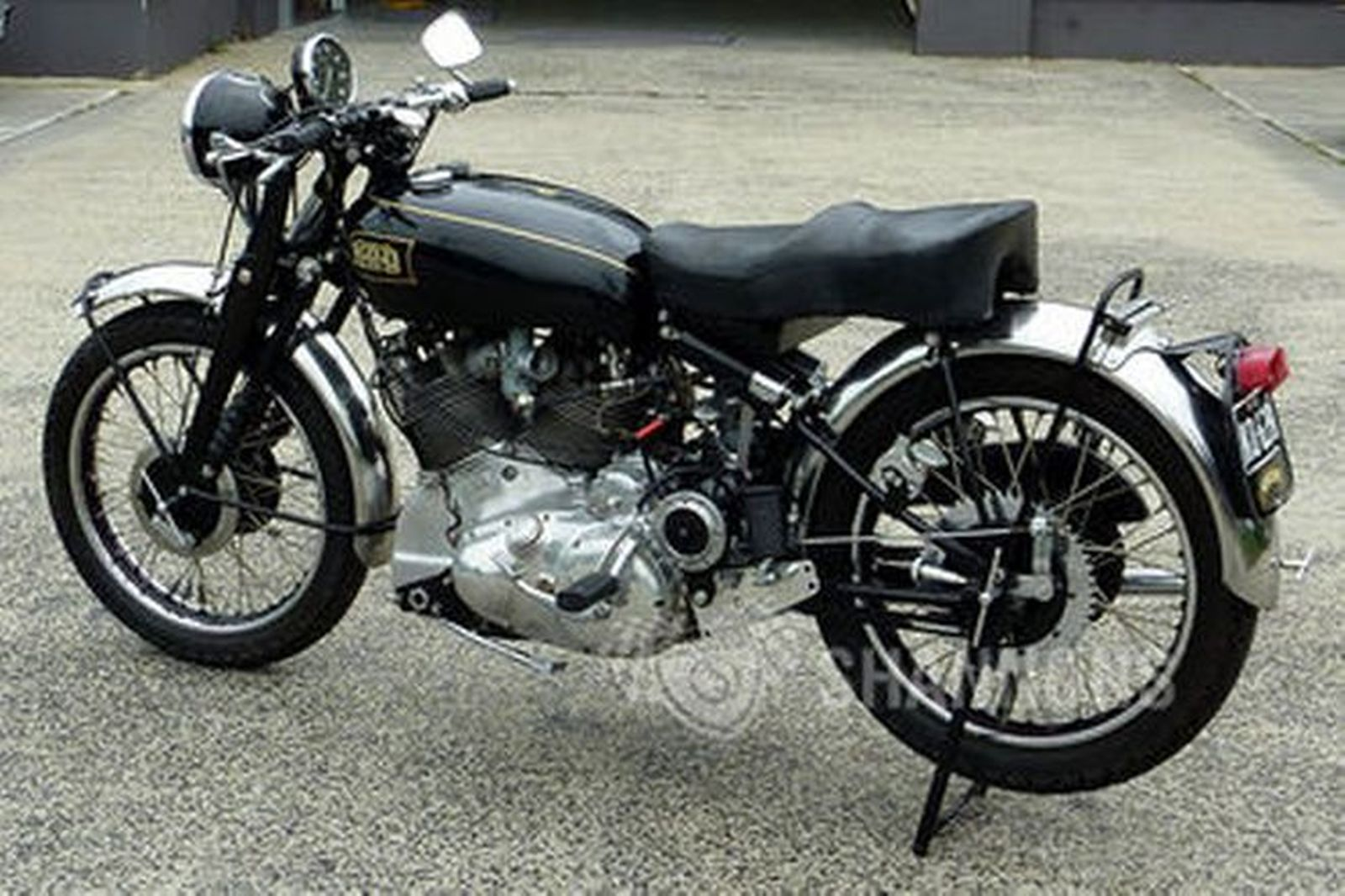 Vincent HRD Rapide Solo Motorcycle