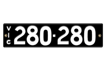 Victorian Number plates '280-280'