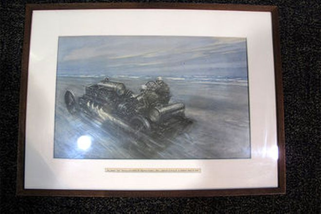 Prints - Framed Motoring Prints x 10 by Gordon Crosby (approx. 50cm x 40cm)