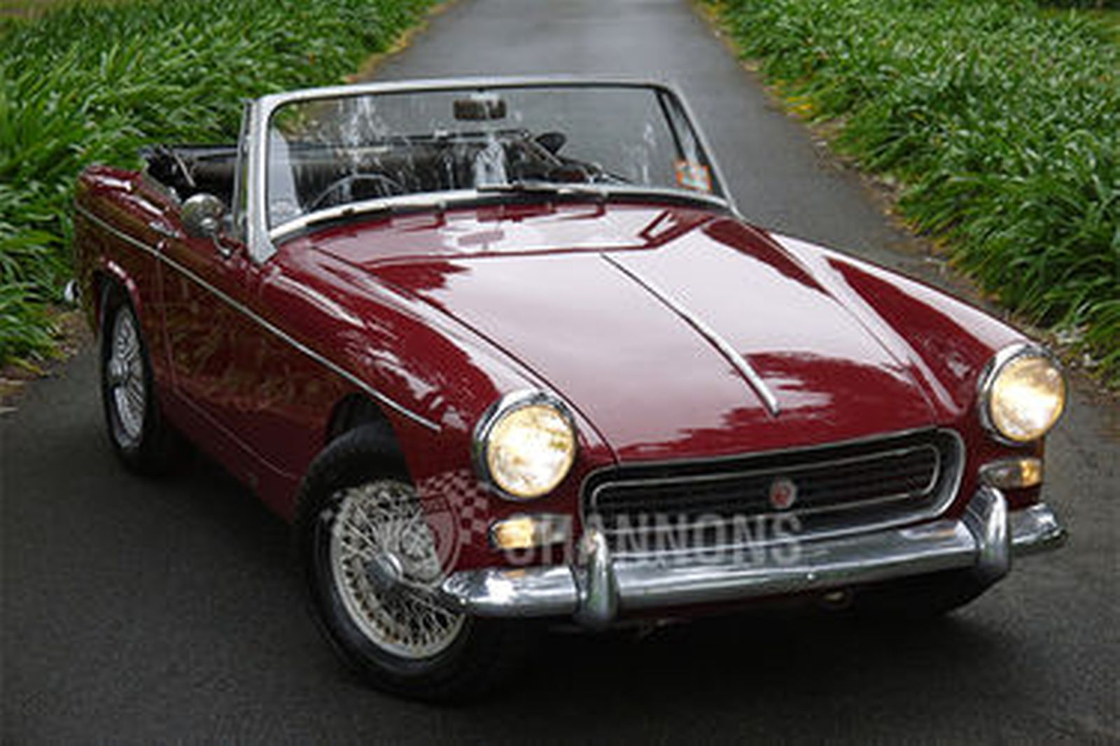 Sold  Mg Midget Mk3 Roadster Auctions - Lot 14