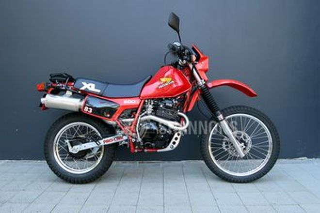 Honda XL600R Motorcycle