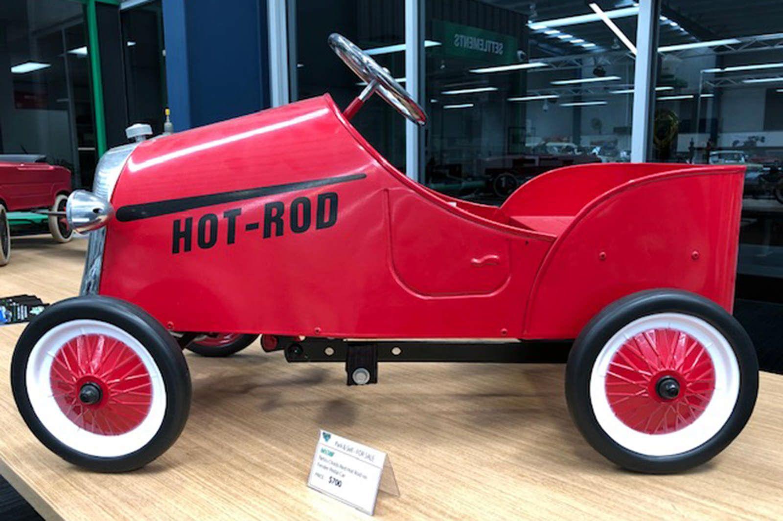 Pedal Car - Hot Rod no Fenders