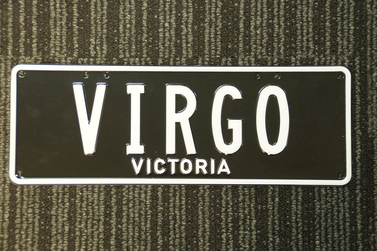 Number Plates - Victorian Numerical Number Plates - 'VIRGO'