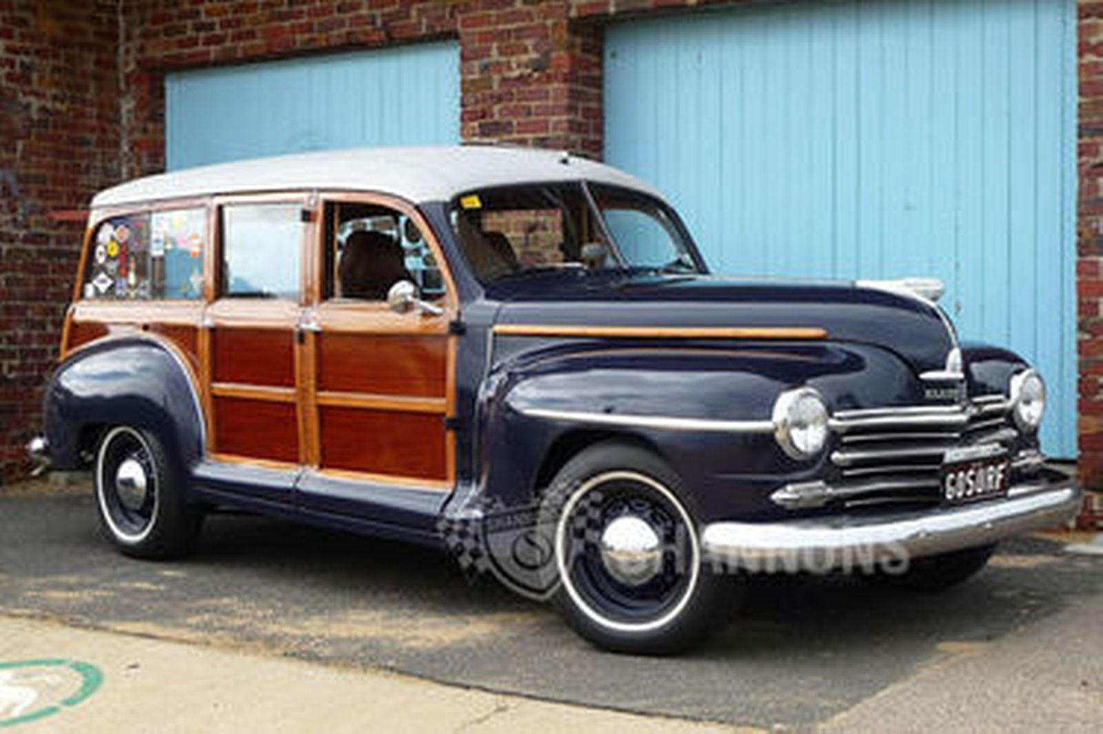 Sold: Plymouth 'Woody' Station Wagon (RHD) Auctions - Lot ...