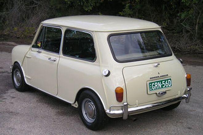Morris Mini Cooper S Mark I Sedan