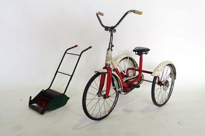 Trike and Childs Mower - 1 x 'Cyclops' Trike & 1 x 'Webb' Childs Mower