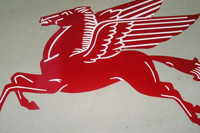 Sign - Flying Horse