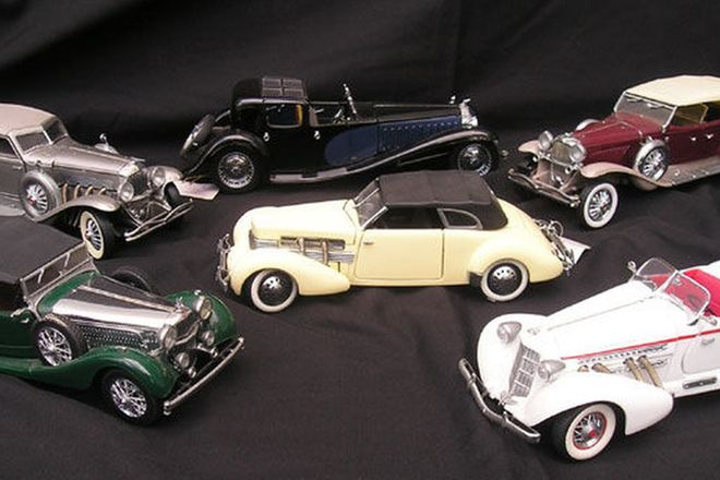 Model Cars - 6 x Franklin Mint (Scale 1:24)