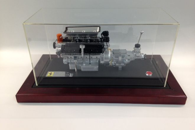 GMP Ferrari Beklinetta 250  engine limited edition with sound (1:6 Scale)