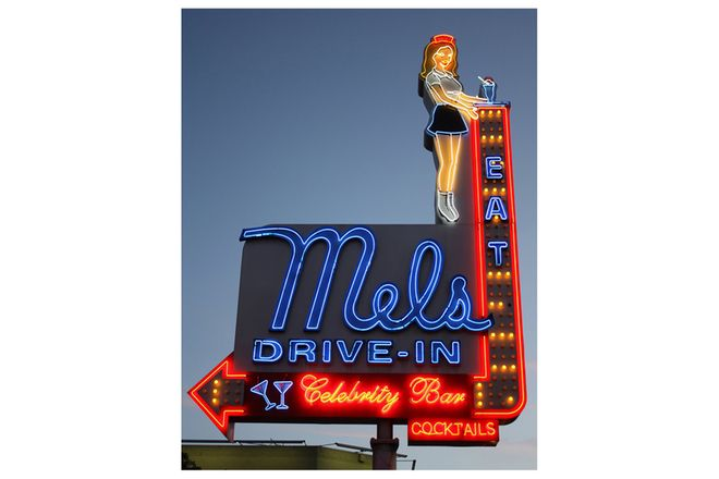 Vinyl Hanging Posters - Mels Drive In