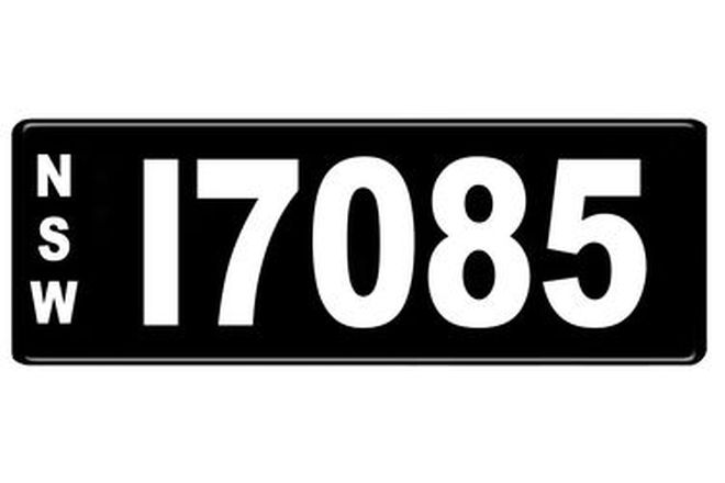 Number Plates - NSW Numerical Number Plates '17085