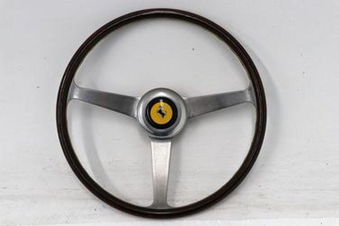 Steering Wheel - Ferrari 250 / 330 Wood Rim - From the 'Ian Cummins Collection'