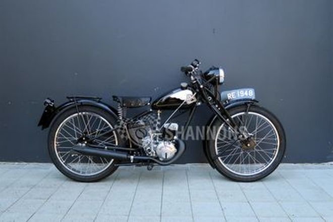 Royal Enfield Model RE Flying Flea 125cc Motorcycle