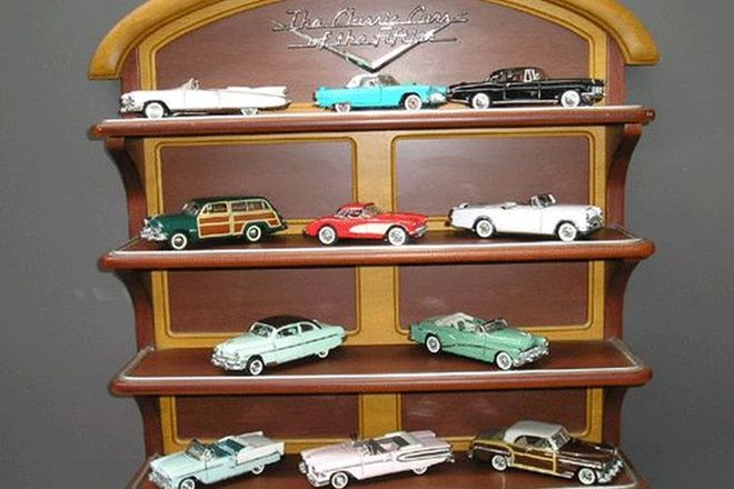 Model Cars x11 - Franklin Mint Cars of the 50's
