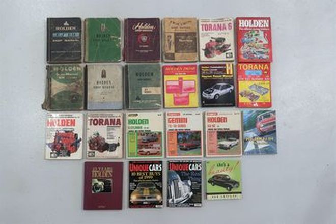 Books & Workshop Manuals  - Various Holden Titles and Manuals x 22
