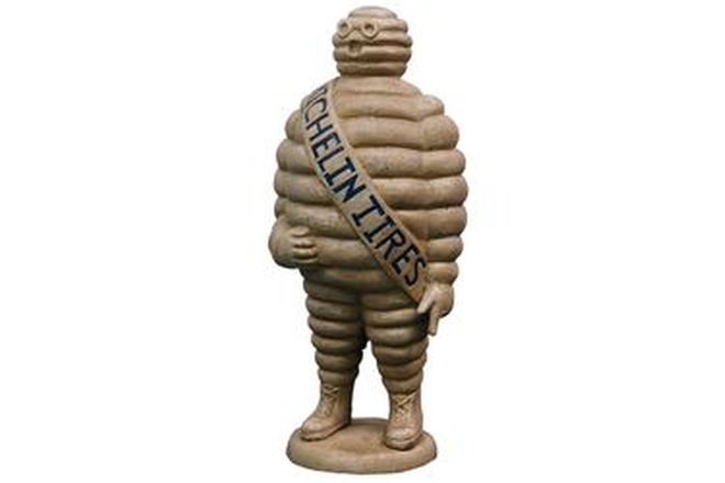 Figure - Michelin Man Cast Iron Floor Standing (57cm tall)