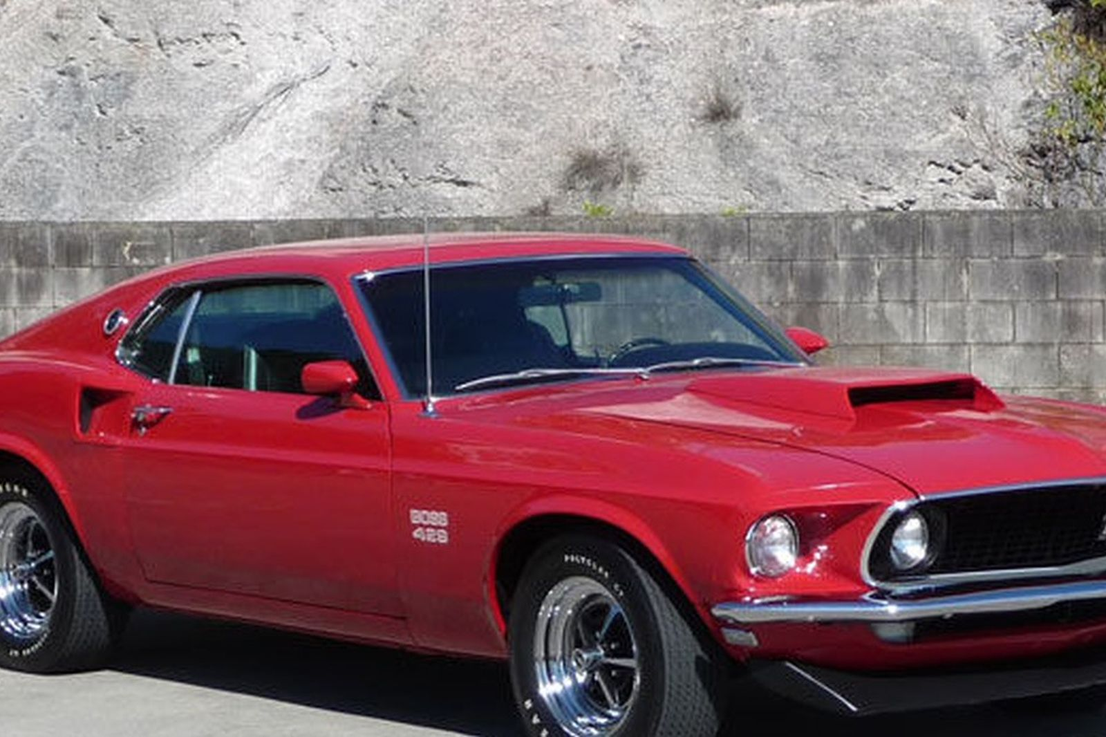 Ford mustang boss 429 fastback lhd auctions lot 23 shannons