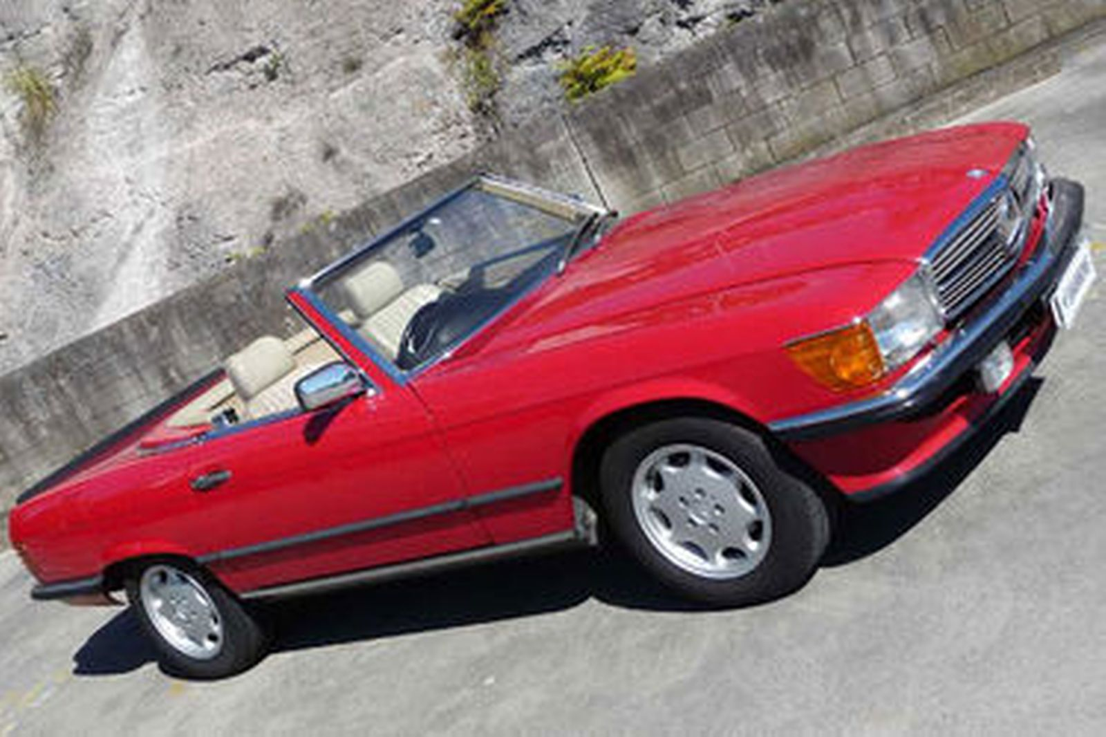 Sold Mercedes Benz 560sl Convertible Auctions Lot 4