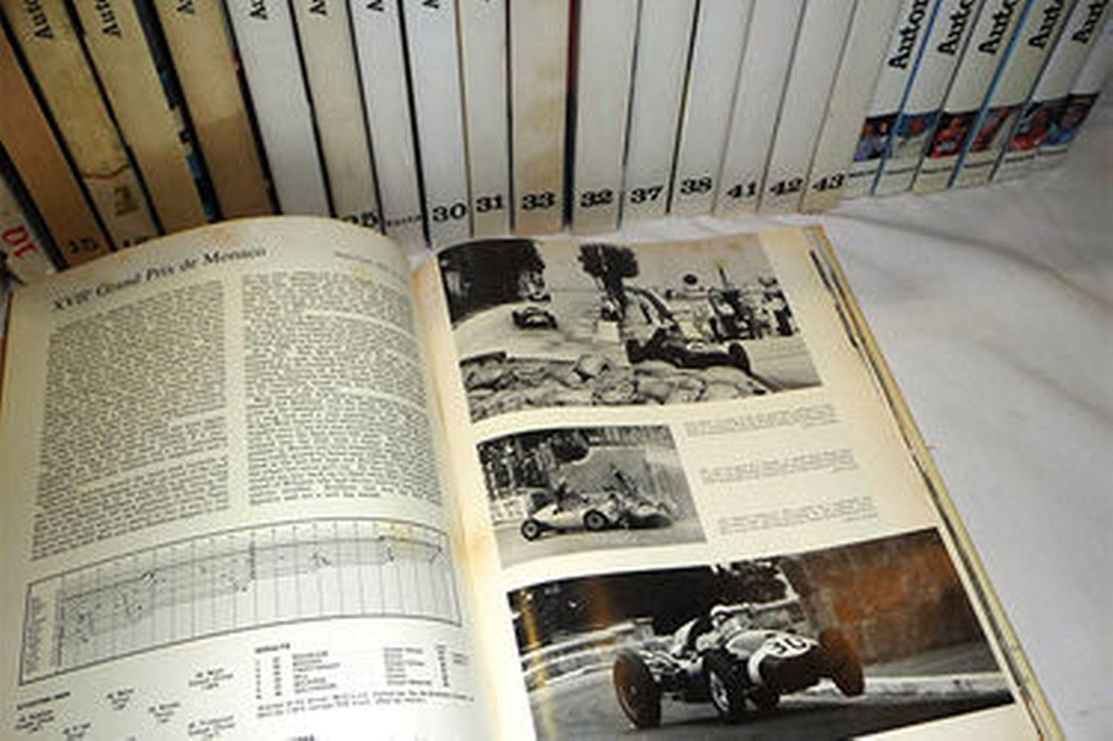 Books x 27 - Automobile Years Books