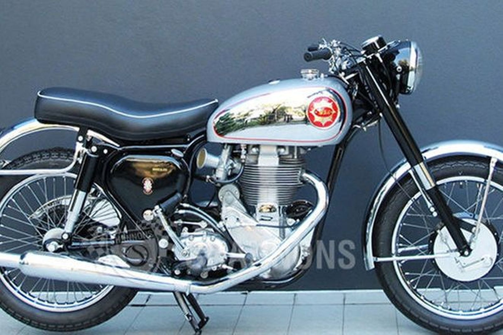 Bsa Star Touring Motorcycle