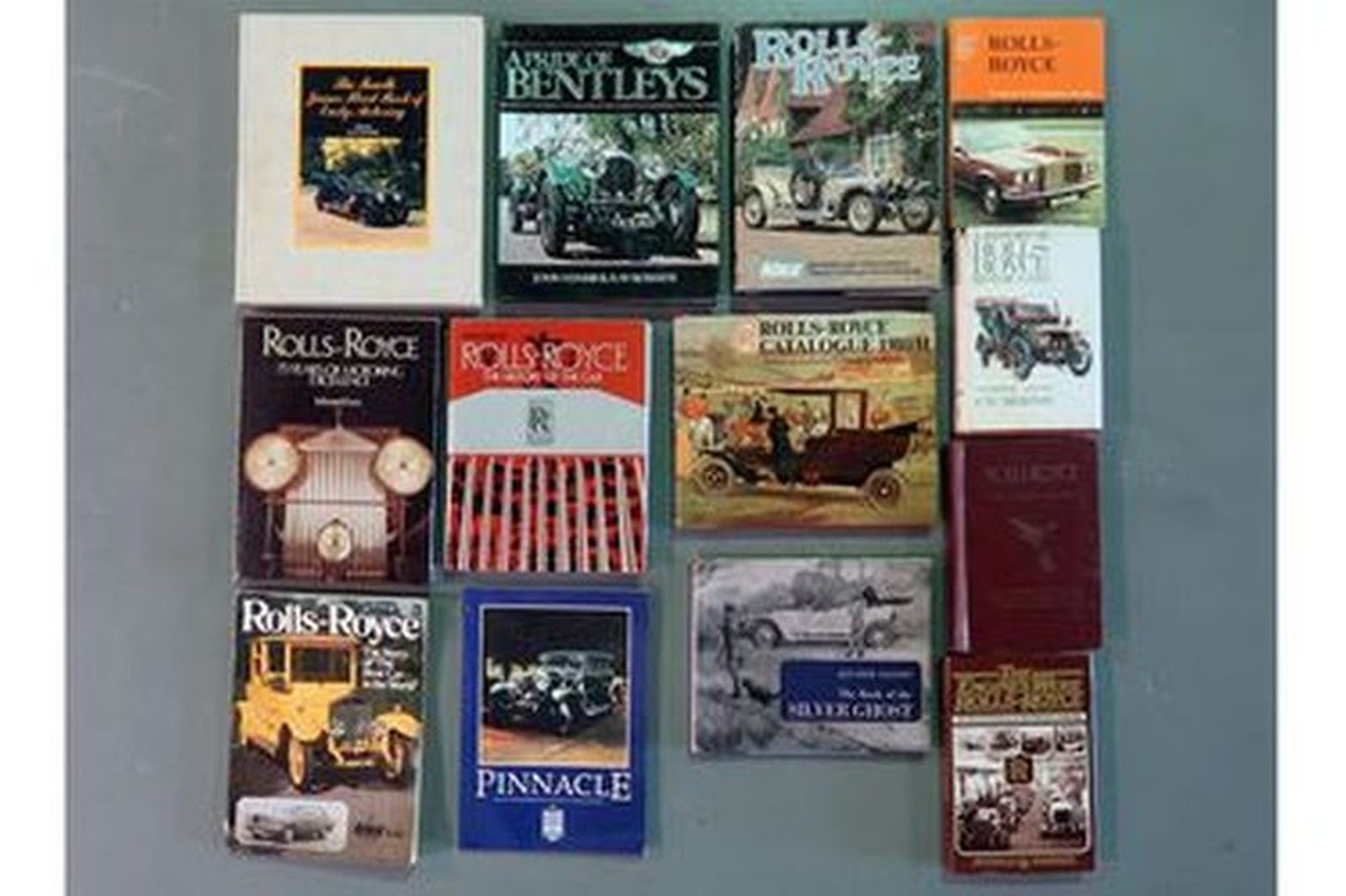 Books - Rolls-Royce Collection x 13