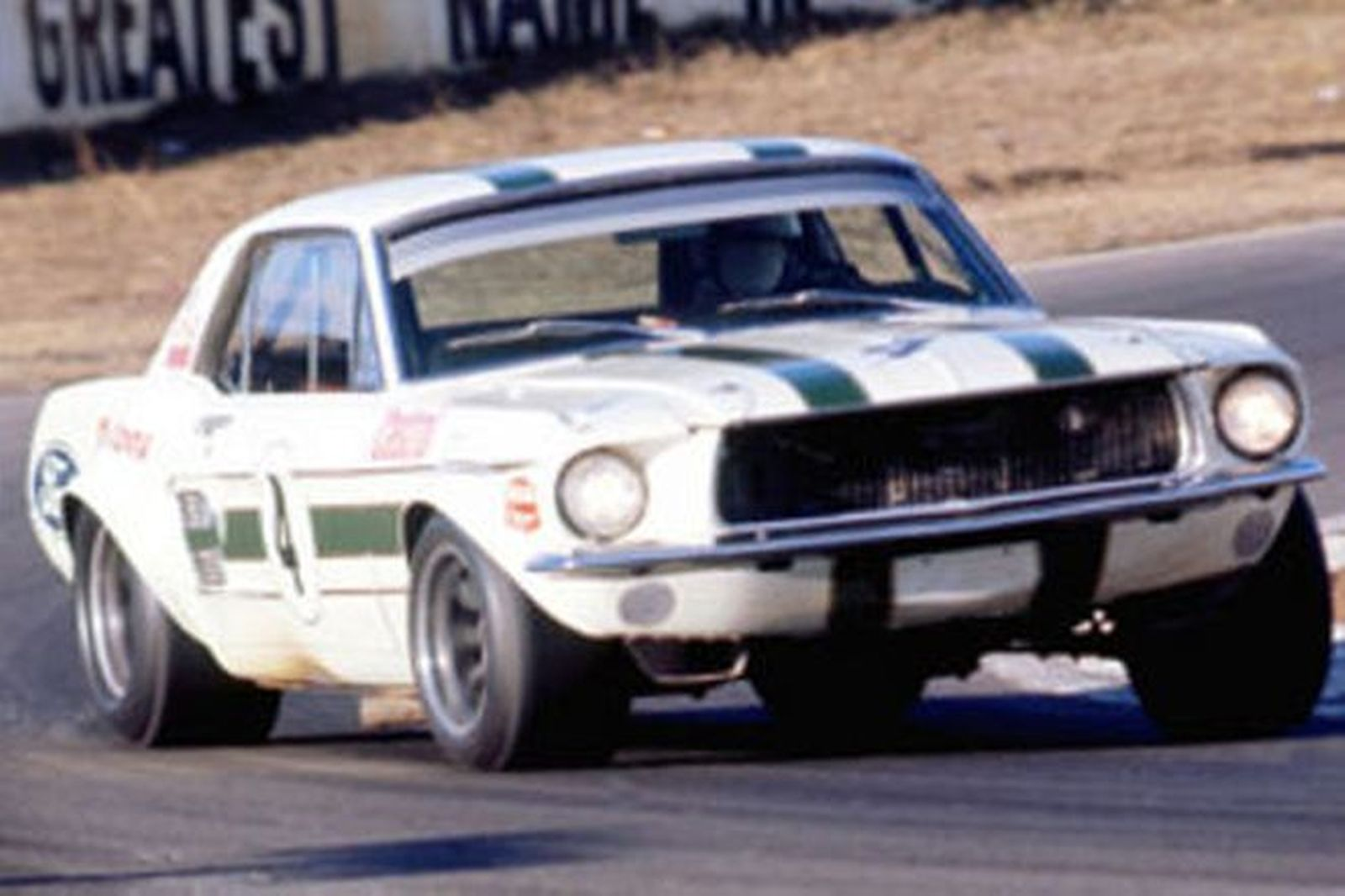 Sold Ford Mustang Gta Ian Pete Geoghegan Touring Car Auctions