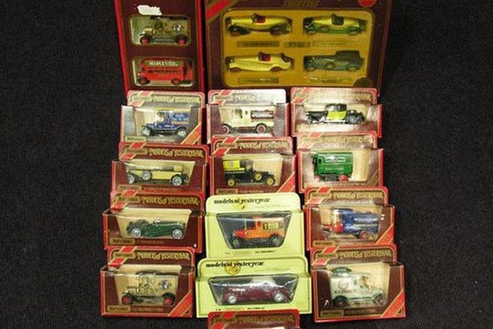 Model Cars - 20 x Matchbox Yesteryear Classics & Vans