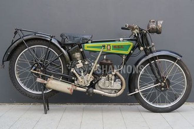 BSA DeLuxe 2.49HP 250cc Motorcycle