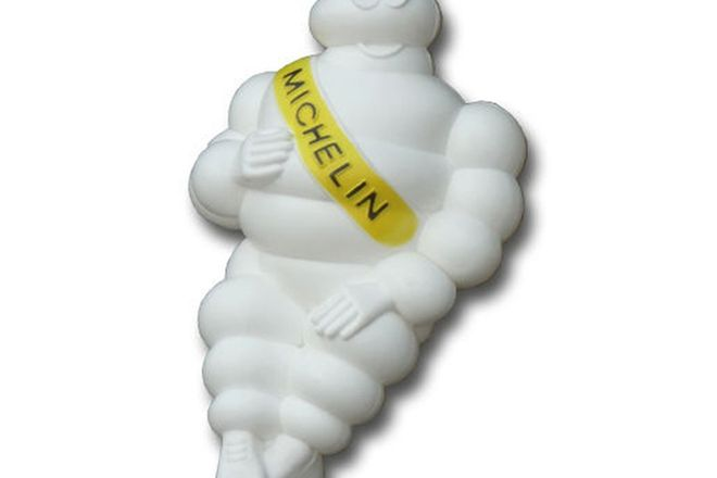 Figurine - Michelin Man with bracket (50cm tall)