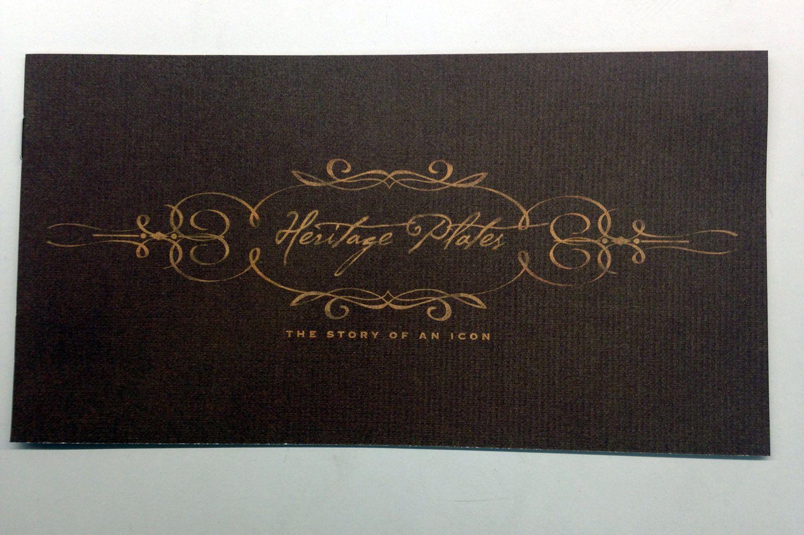 Victorian Heritage Plates