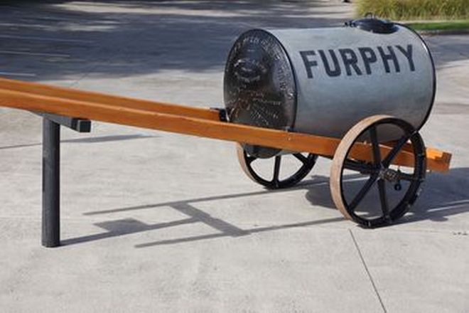 Furphy Water Tank on Cart