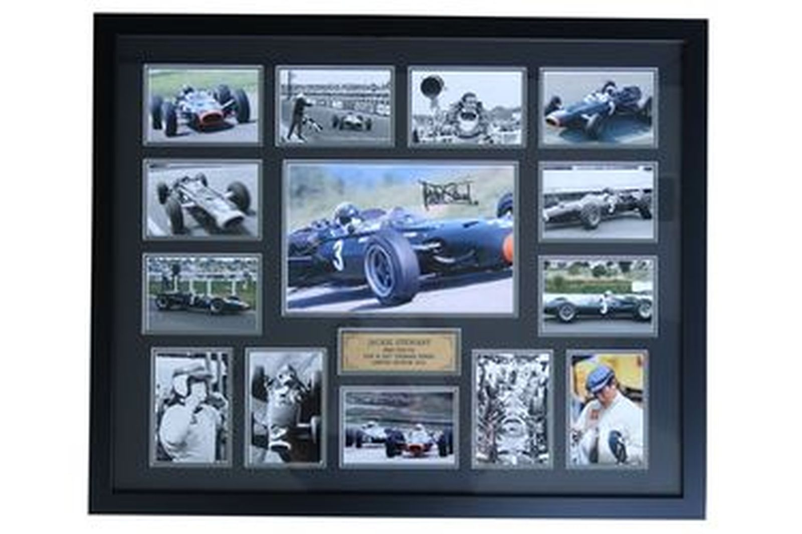 Framed Photos - Jackie Stewart Collages (65 x 80cm)