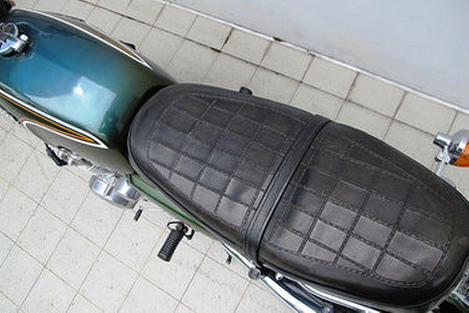 Honda CB350/4 Motorcycle