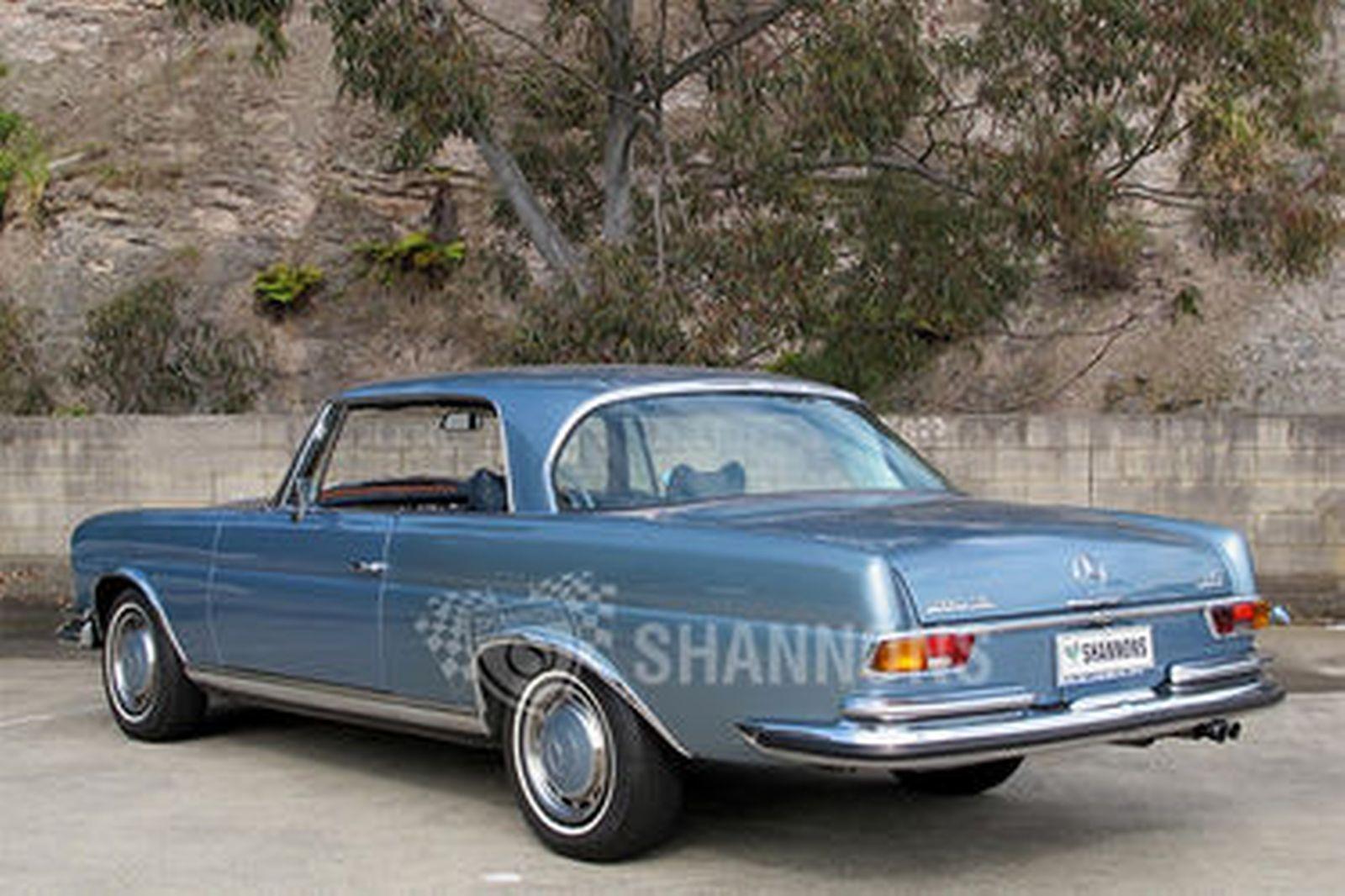 Sold mercedes benz 280se 3 5 coupe auctions lot 21 for 1970 mercedes benz 280se
