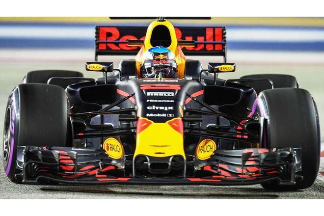 Vinyl Hanging poster - Formula 1(Red Bull)