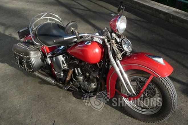 Harley Davidson U47 Motorcycle