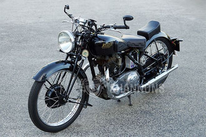Rudge Ulster 500cc Solo Motorcycle