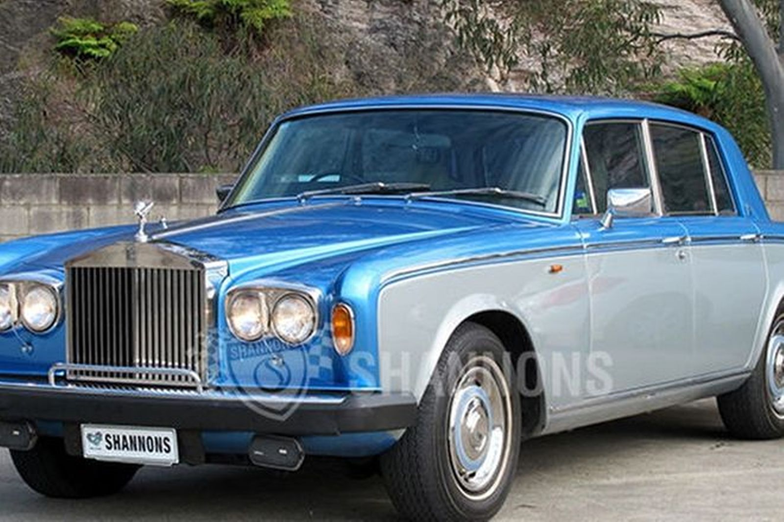 sold rolls royce silver shadow ii saloon auctions lot 11 shannons. Black Bedroom Furniture Sets. Home Design Ideas