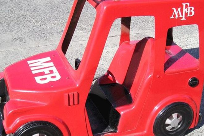 Childs Ride - Electric Fire Engine