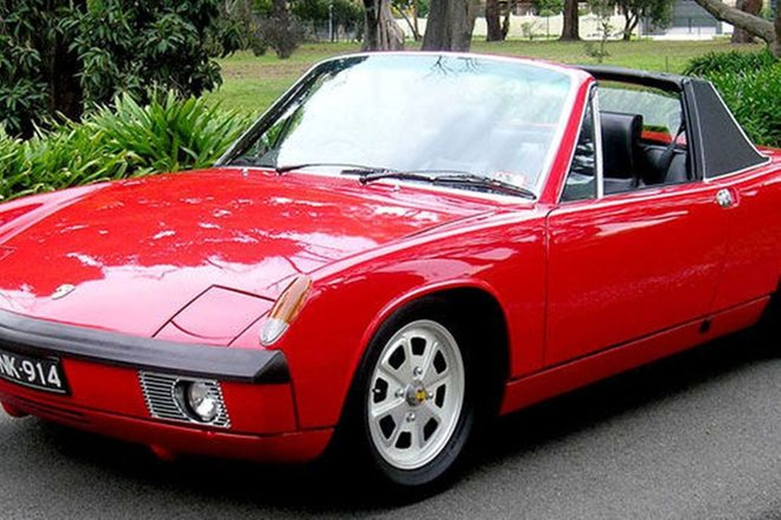Sold Porsche 914 6 Cyl Targa Coupe Rhd Auctions Lot 8 Shannons
