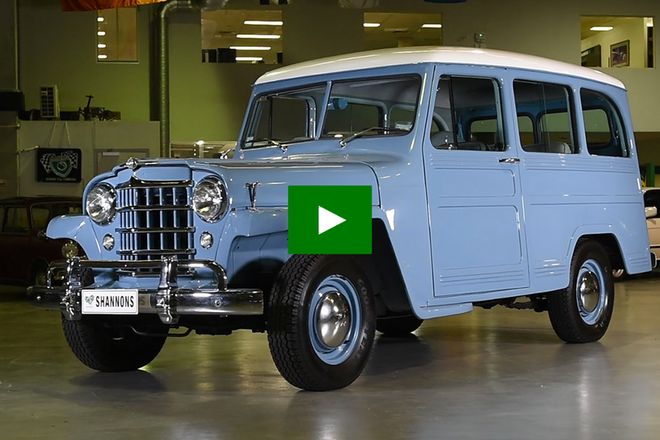 Willys Overland 4x2 Station Wagon (RHD) Auctions - Lot 21