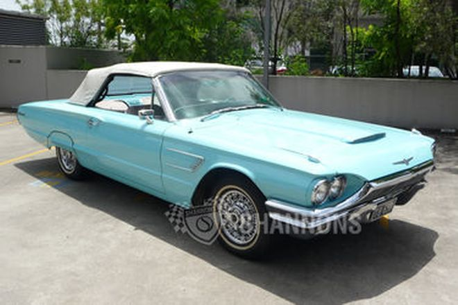 Ford Thunderbird 2-door Convertible (LHD)