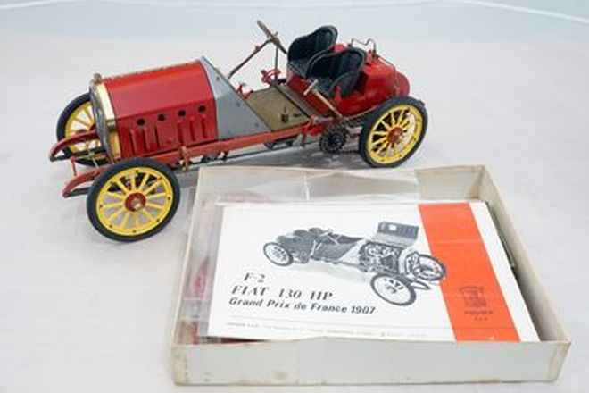 Model Kit - Rare Pocher Torino Model Fiat 130HP GP France 1907 (1:8 Scale)
