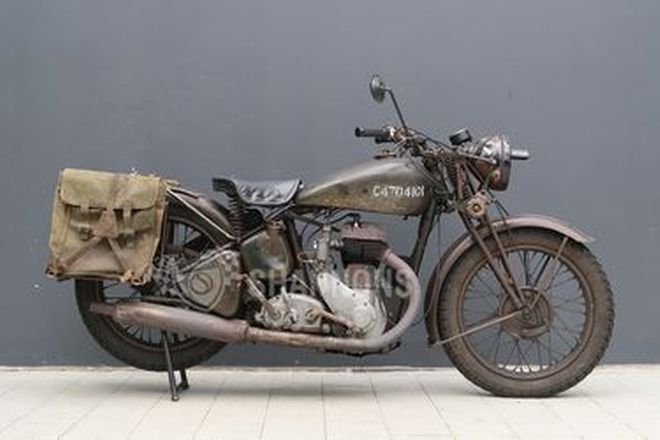 BSA WM20 500cc Motorcycle